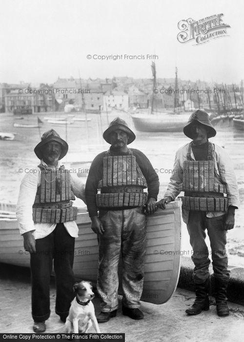 St Ives, Lifeboatmen 1906
