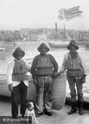 Lifeboatmen 1906, St Ives