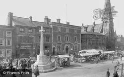 Market Day 1931, St Ives