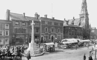 St Ives, Market Day 1931