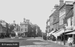Market Hill 1901, St Ives