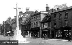Market Hill 1925, St Ives