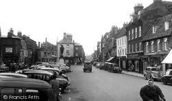 St Ives, Market Hill c.1955