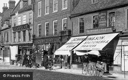 Market Place Shops 1901, St Ives
