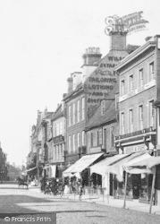 St Ives, Market Place, Shops 1901