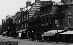 St Ives, Market Square Shops 1898