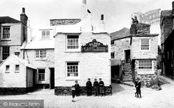 Old Sloop Inn 1906, St Ives