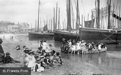 On The Beach 1890, St Ives