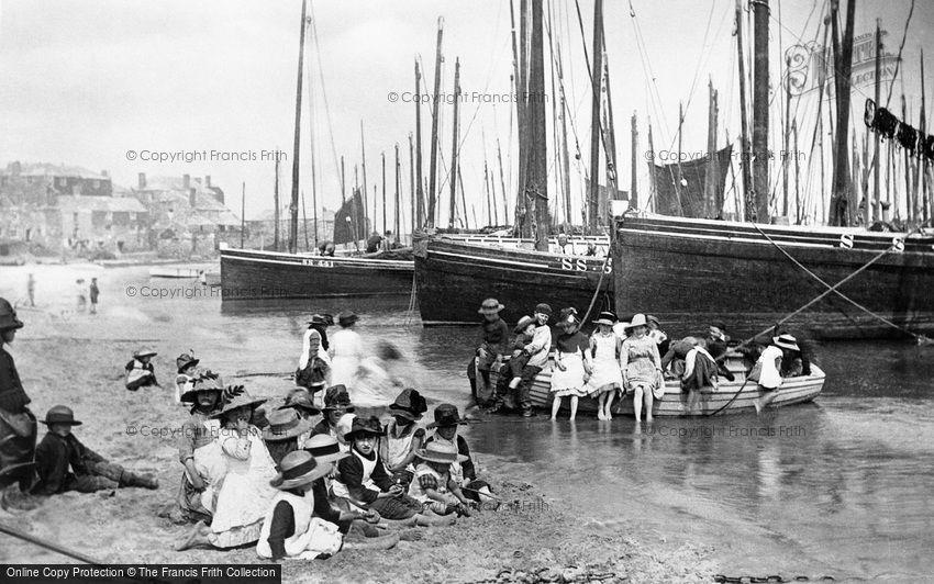 St Ives, on the Beach 1890