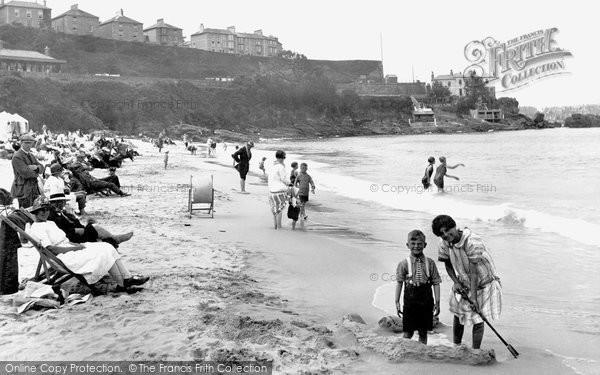 St Ives, Porthminster Beach 1925