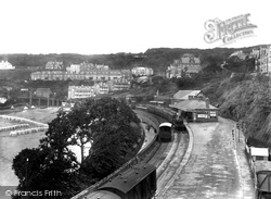 Railway Station 1928, St Ives