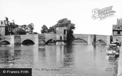 St Ives, The Bridge c.1955