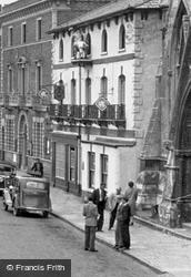 The Golden Lion Hotel c.1955, St Ives