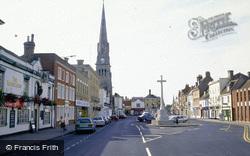 The Market Place c.2000, St Ives