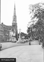 St Ives, The Market Square c.1960