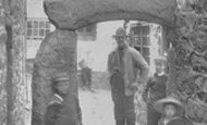 St Ives, the Old Archway 1906