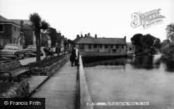 St Ives, The River And The Waits c.1965