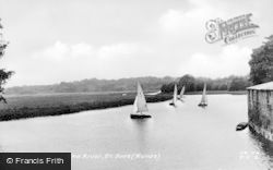 St Ives, The River Ouse c.1955