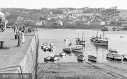 St Ives, The Slipway c.1960