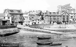The Sloop Inn And Slipway c.1955, St Ives
