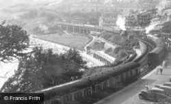 The Station c.1945, St Ives