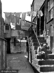 Washing Day 1927, St Ives