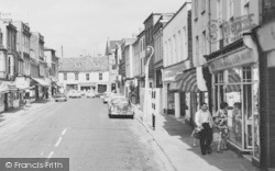 St Ives, Window Shopping In Bridge Street c.1965