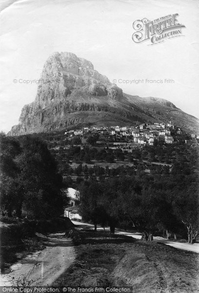 Photo of St Jeannet, 1890