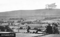 The Village From The North c.1955, St John's Chapel
