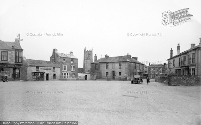 Photo of St Just In Penwith, Bank Square c.1935