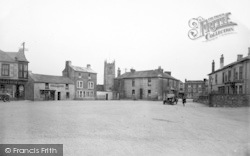 St Just In Penwith, Bank Square c.1935
