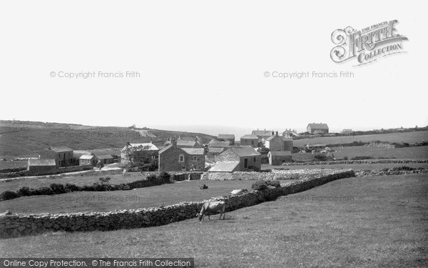 Photo of St Just In Penwith, Bosorne Village c.1932
