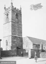 St Just In Penwith, Boys By The Church 1908