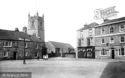 St Just In Penwith, Church And Market Place 1908