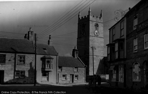 Photo of St Just In Penwith, Church c.1950