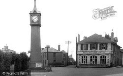 St Just In Penwith, Clock Tower c.1950