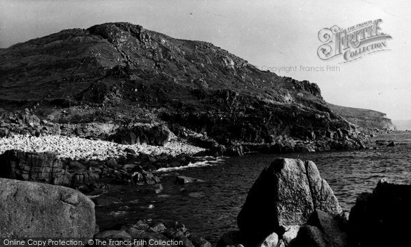 Photo of St Just In Penwith, Coastline c.1950