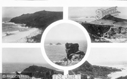 St Just In Penwith, Composite c.1930