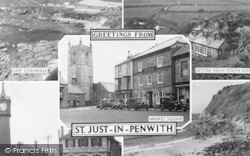 St Just In Penwith, Composite c.1955