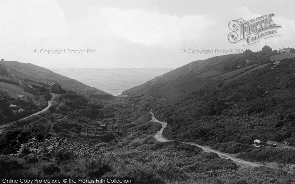 Photo of St Just In Penwith, Cot Valley c.1932