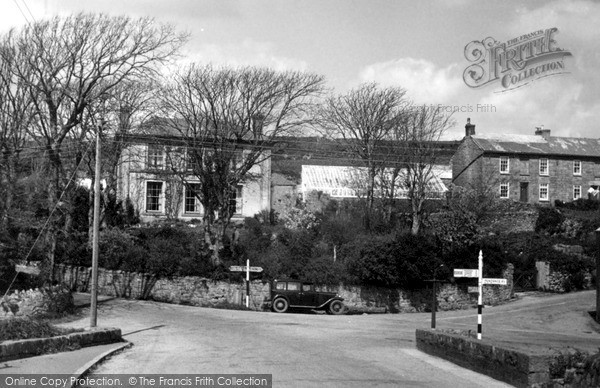 Photo of St Just In Penwith, Cross Roads c.1950