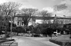 St Just In Penwith, Cross Roads c.1950