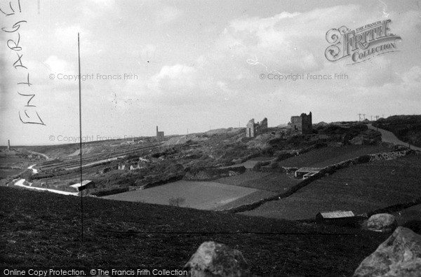 Photo of St Just In Penwith, Deserted Mine Workings c.1950