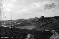 St Just In Penwith, Deserted Mine Workings c.1950