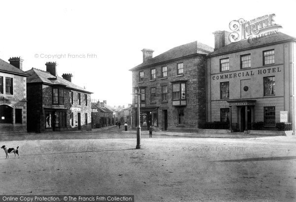 Photo of St Just In Penwith, Fore Street And Market Place 1908