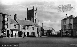 St Just In Penwith, Market Square And Church c.1950