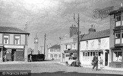 St Just In Penwith, Market Square And War Memorial c.1950