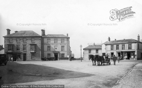 Photo of St Just In Penwith, Market Square c.1932