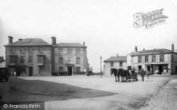 St Just In Penwith, Market Square c.1932