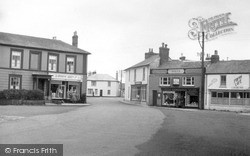 St Just In Penwith, Market Square c.1950